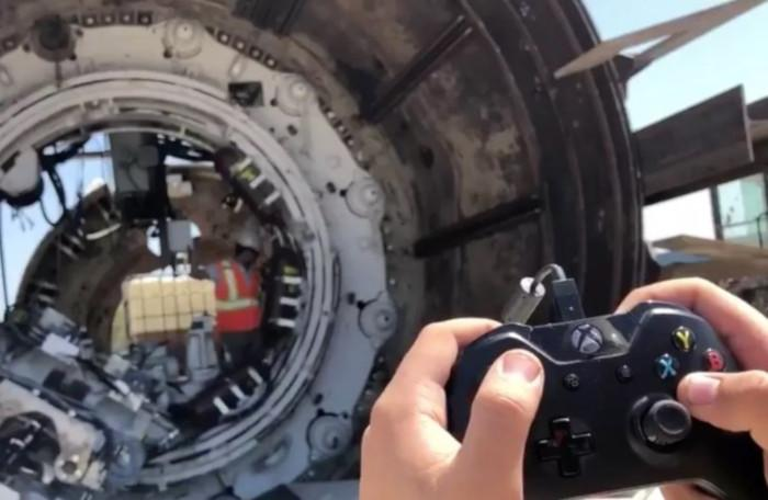 Технологии консоли Xbox в The Boring Company