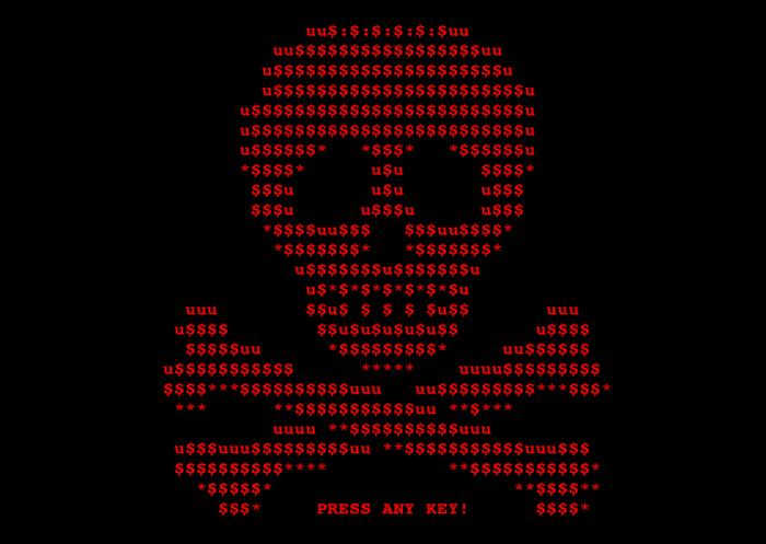 Вирус-шифровальщик на компьютере