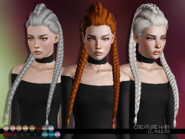 LeahLillith Creature Hair (the Sims 4 & the Sims 3)