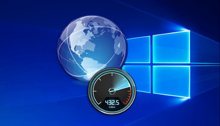 Замеряем скорость интернета в Windows 10