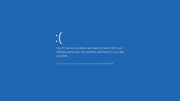 Устраняем ошибку «CRITICAL_SERVICE_FAILED» в Windows 10