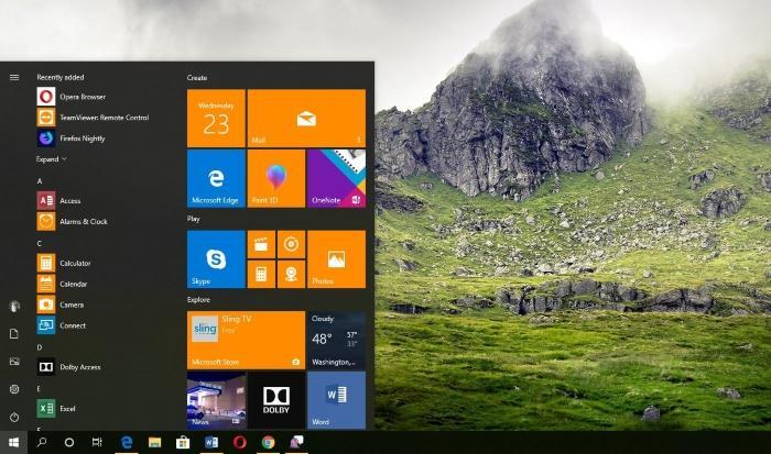 Windows Lite получит меню «Пуск» в стиле Windows 7