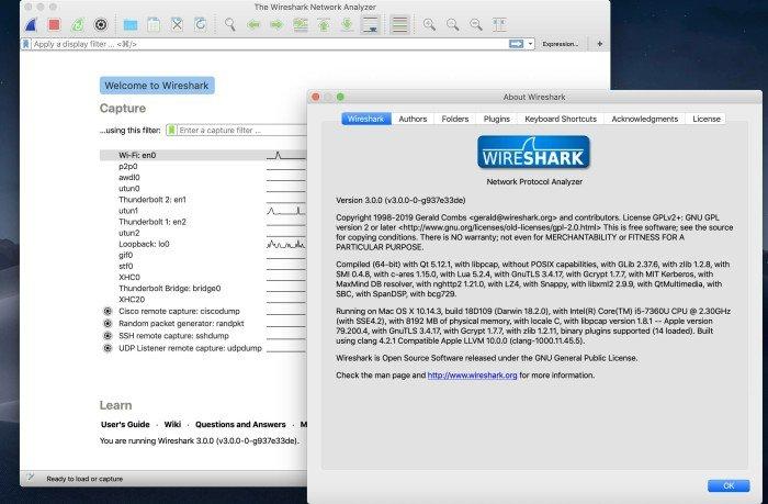 Популярный анализатор сетевых протоколов Wireshark получил обновление