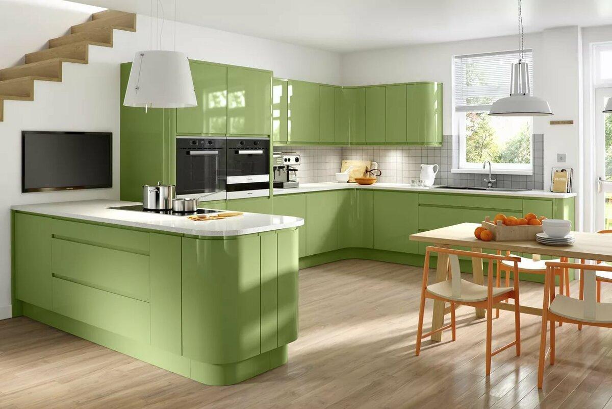 Какого цвета выбрать кухню?