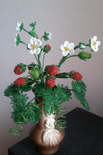 Мои цветочки из бисера 0871065001478947152.1478948008