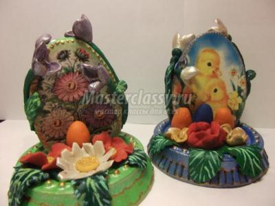Пасхальные яйца из гипса с цветами из пластики 1367583610_dscf0918_640x480.1555132855