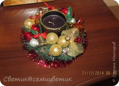 Новогодний подсвечник и МК 155951_img_2547.1546487462