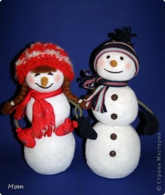 Снеговик и Снегови'чка Гольфиковы 1_32.1546229631