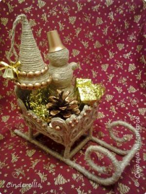 Снеговик везет подарки для Деда Мороза 252879_foto0424.1546572741