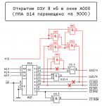 Радио-86РК: Расширение ОЗУ Dop.1545954981