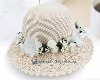 Шляпка крючком с ажурными полями SHlyapka-kryuchkom-s-azhurnymi-polyami-2.1552489362
