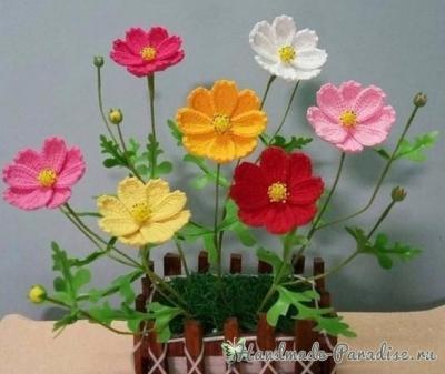 Весенние полевые цветы крючком Vesennie-polevyie-tsvetyi-kryuchkom.1552365925