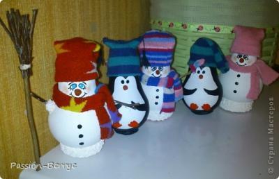 Снеговики и пингвины, МК Dsc_0038.1546406319