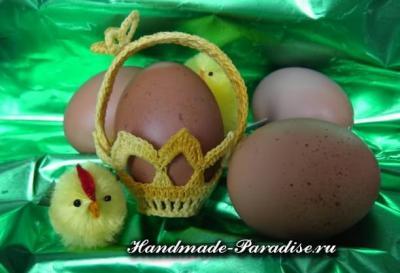 Вязание крючком корзинки для пасхальных яиц Korzinka-kryuchkom-dlya-pashalnyih-yaits-1.1553032489