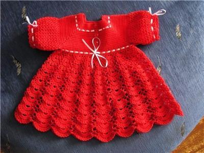 Милое и простое платье крючком для девочки Miloe-i-prostoe-plate-kryuchkom-dlja-devochki-images-big.1553031759