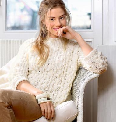 Красивый и нежный свитер с сотами Wypoqdwz99y.1546406612