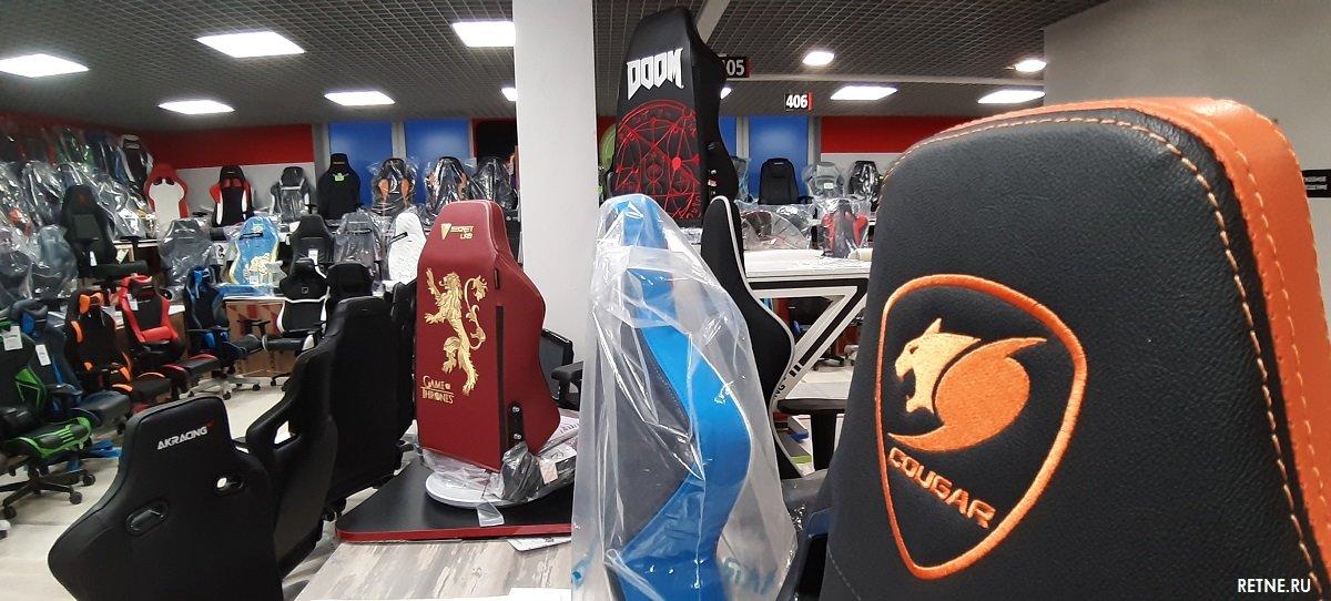 игровые кресла Кугард в Питере магазин