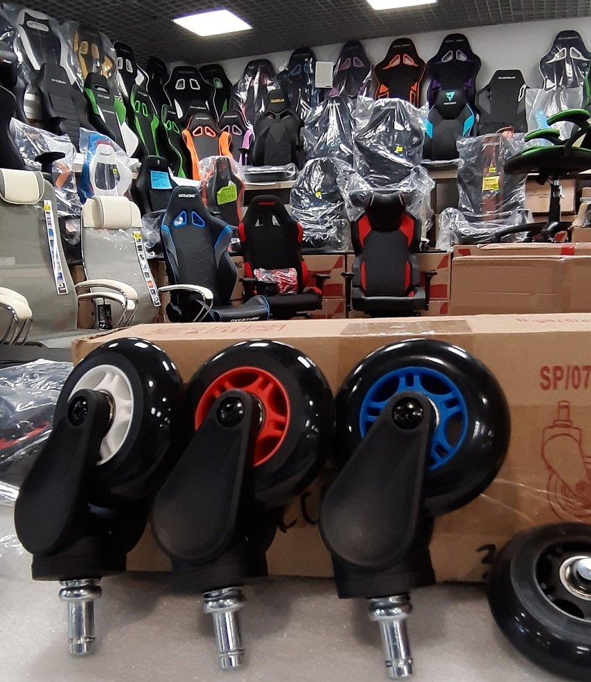 Роликовые колёса DXRACER BLADE WHEELS