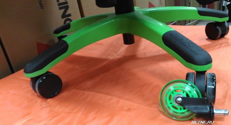 роликовые колёса для кресел на подшипниках