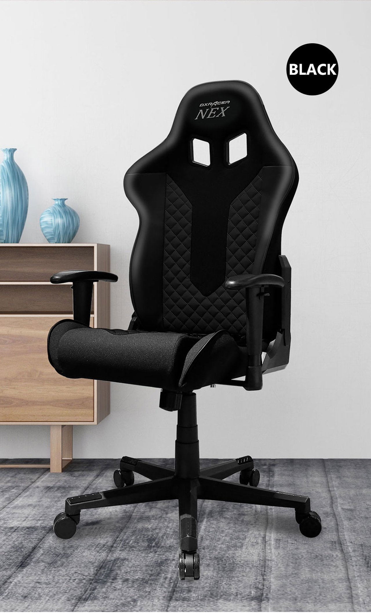 тканевое кресло DXRacer-NEX-ECOK01N