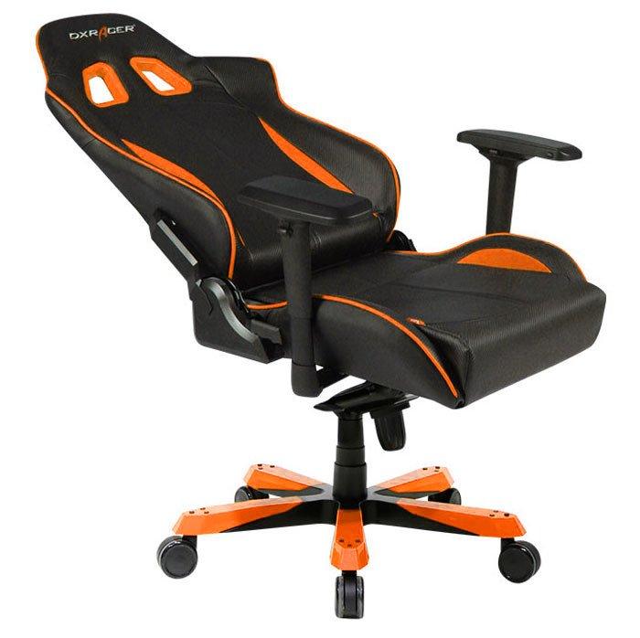 игровое DXRacer King чёрно-оранжевое (OH/KS57/NO)