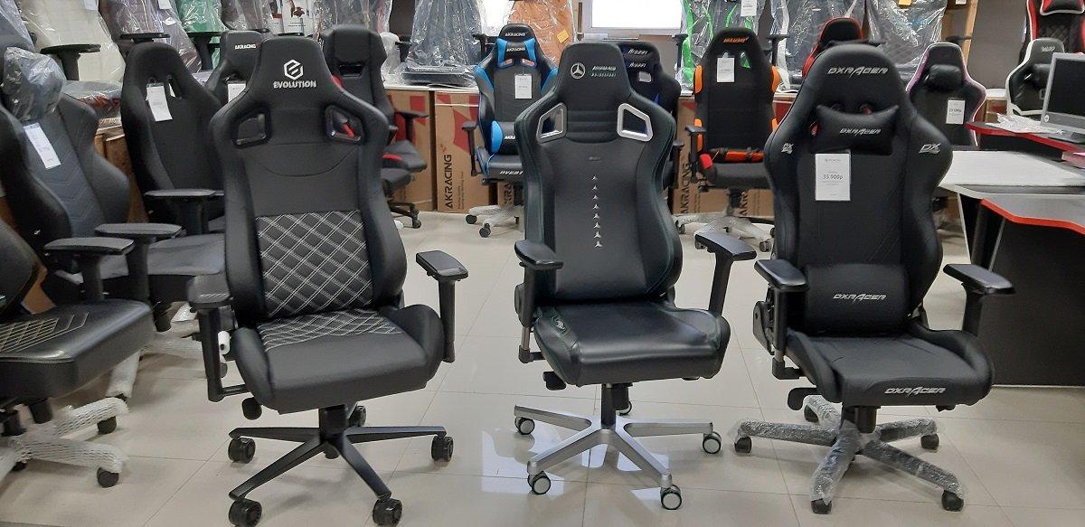 Игровое компьютерное кресло Evolution ALFA