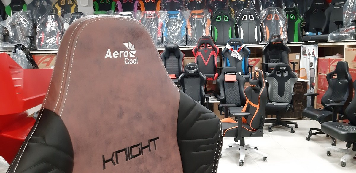 Кресло игровое Aerocool KNIGHT Burgundy Red 4710562751222
