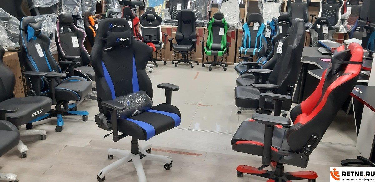 Компьютерное кресло Arozzi Inizio Fabric - Blue INIZIO-FB-BLUE