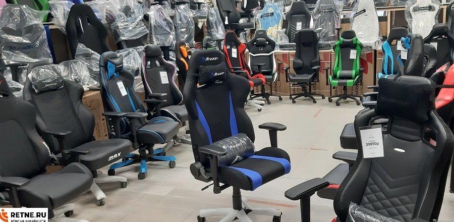 игровое тканевое кресло Ароцци Arozzi-Inizio