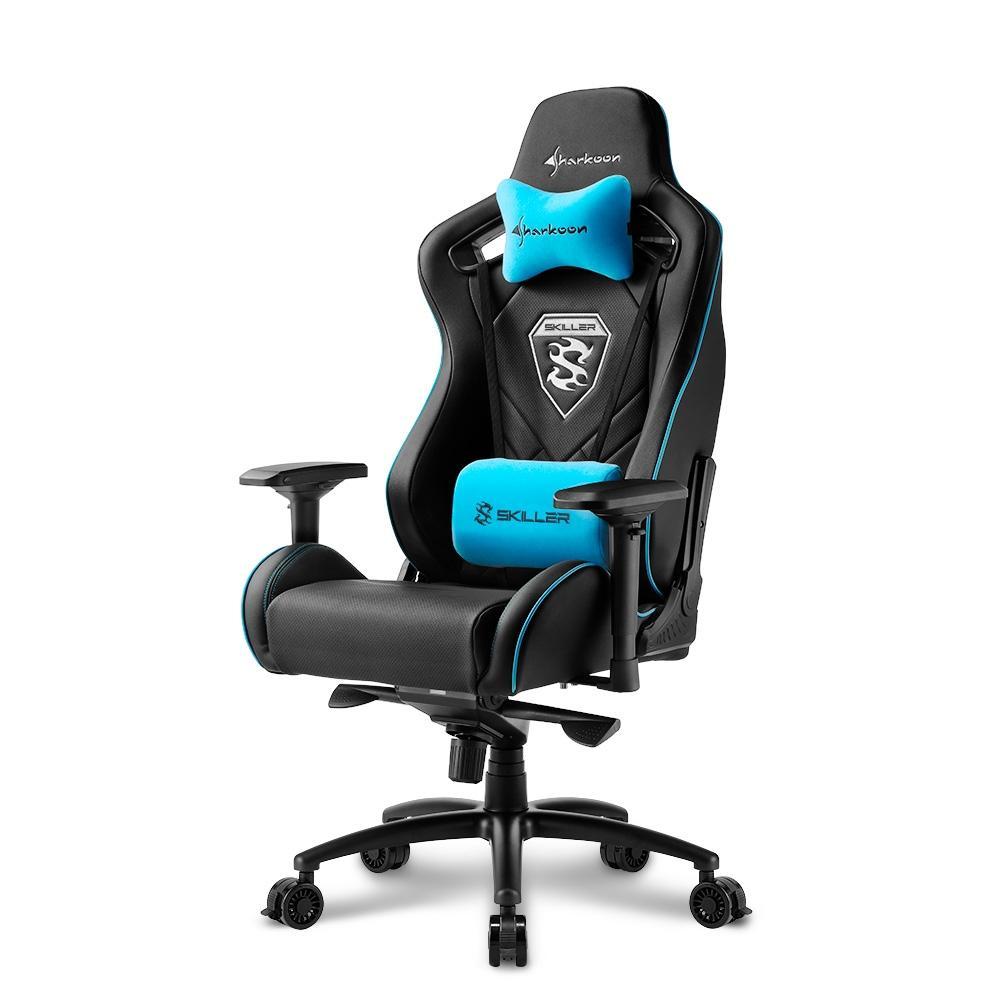 Игровое кресло Sharkoon Shark Skiller