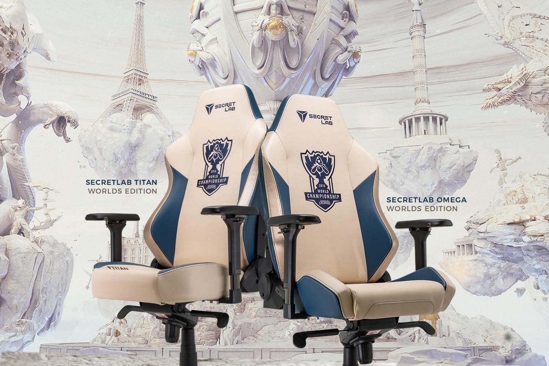 игровое кресло геймера Secretlab-OMEGA-Series