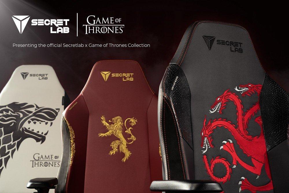 кресло игровое секретлаб