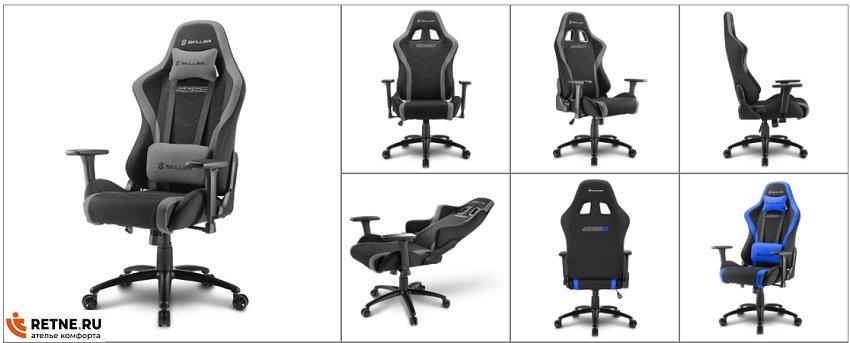 игровые кресла Sharkoon Shark  Skiller- SGS2