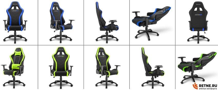 тканевые игровые кресла Sharkoon-Shark-Skiller-SGS2