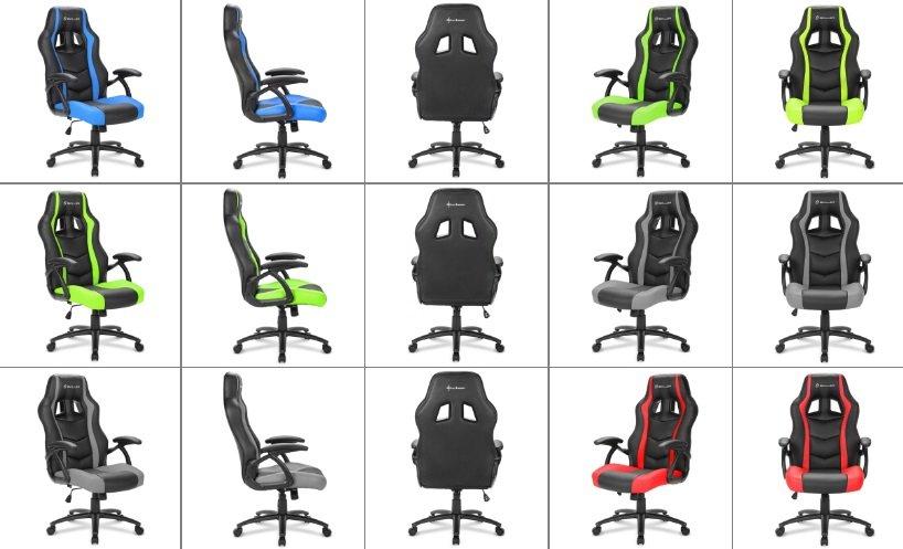 игровое кресло SKILLER SGS1 от Sharkoon (Германия)