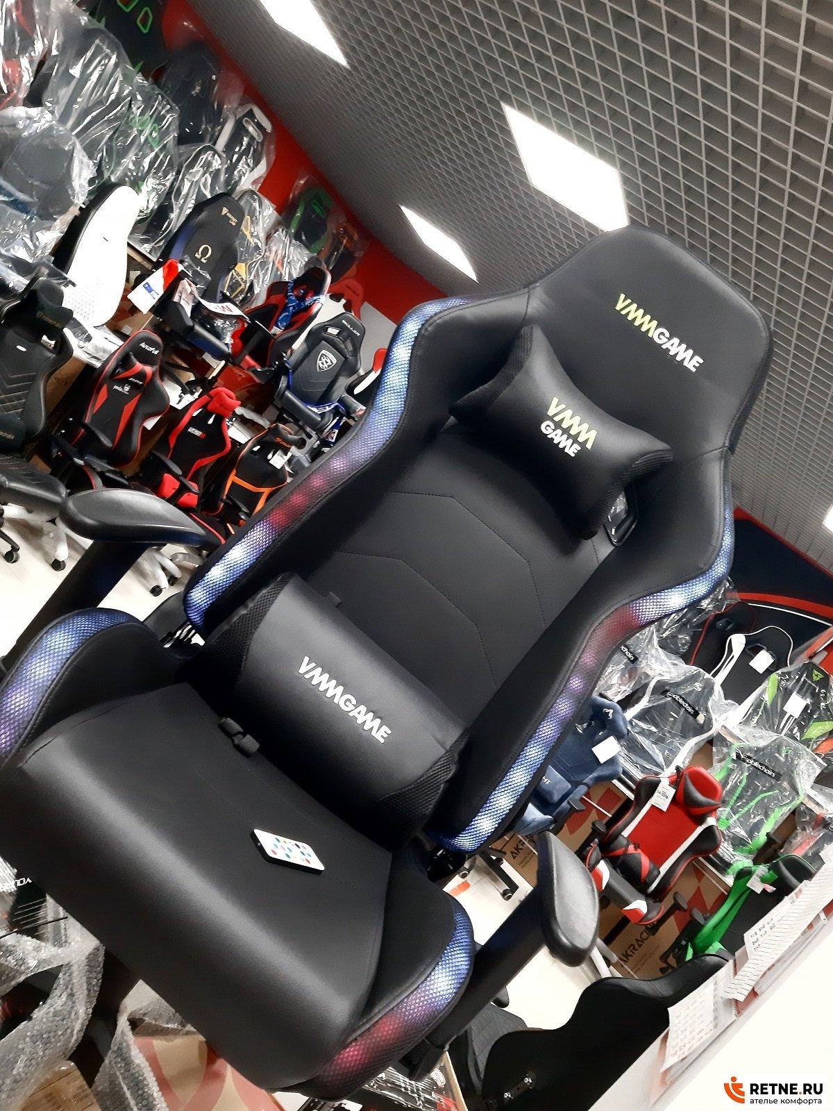 Игровое кресло с LED подсветкой VMMGAME-ASTRAL-RGB