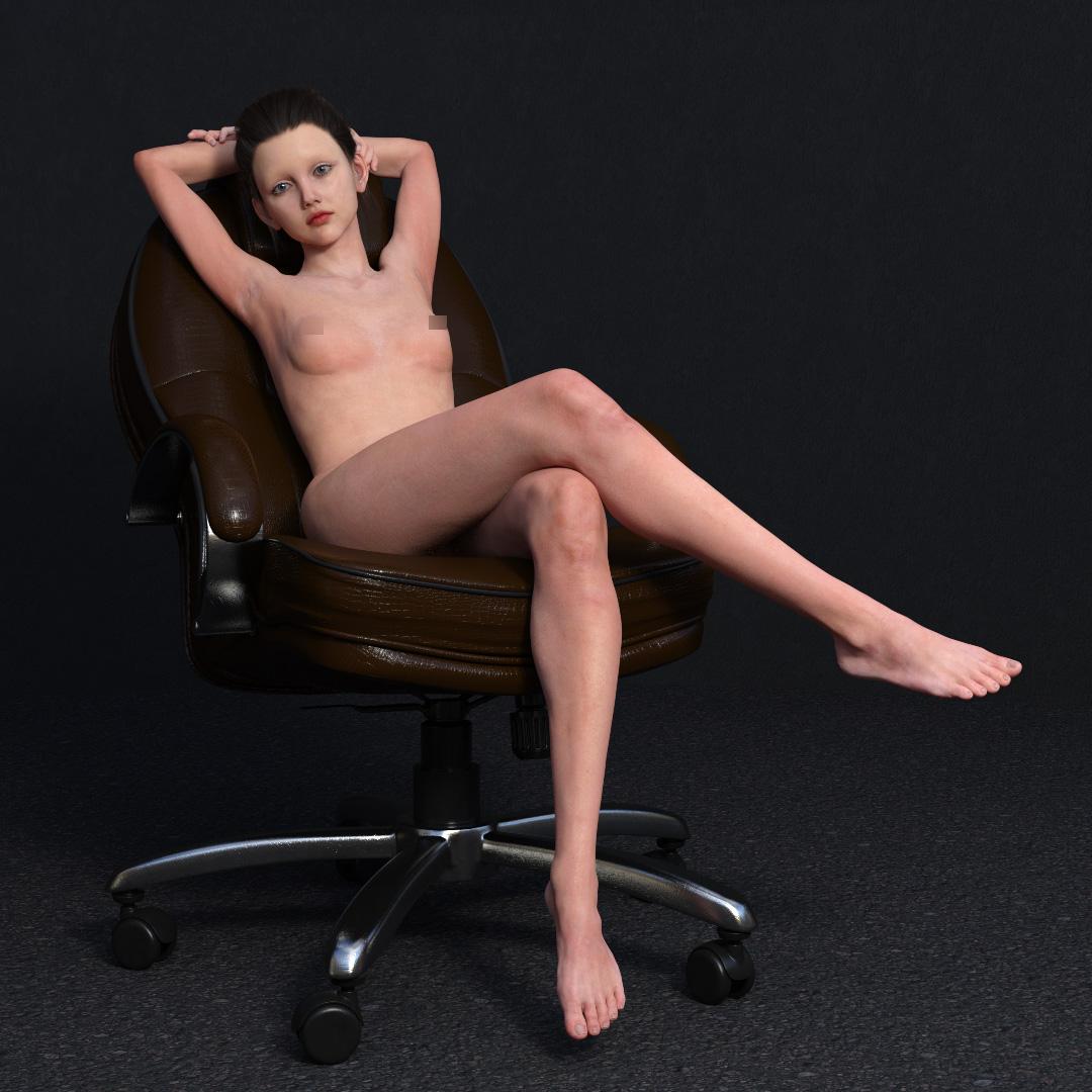 Iray skin demo