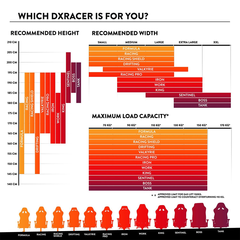 таблица размерного ряда для ДХРасер