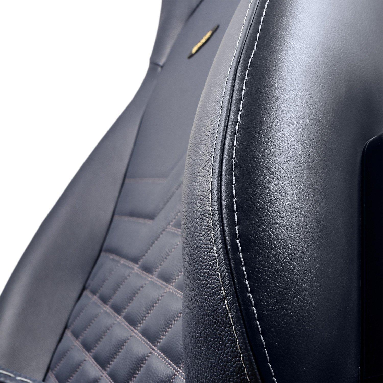 Игровое Кресло Noblechairs ICON (NBL-ICN-RL-MBG) Real Leather / midnight blue/graphite
