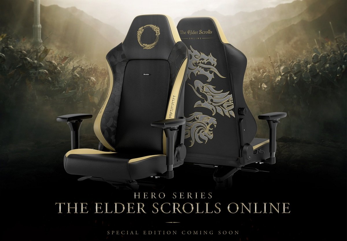 Noblechairs HERO (NBL-HRO-PU-ESO) PU Leather / The Elder Scrolls Online Special
