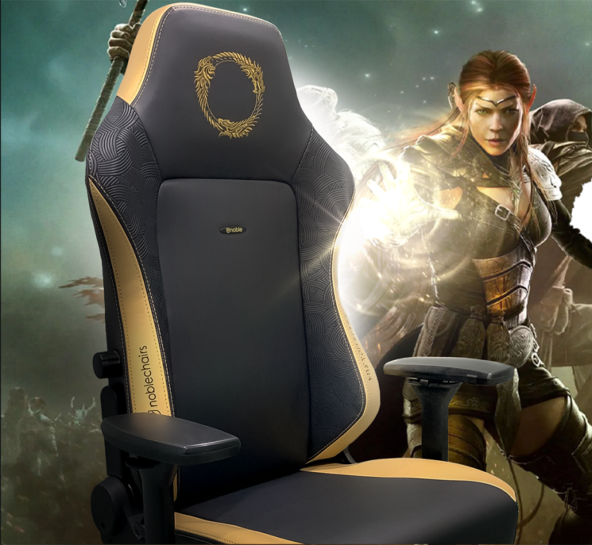 Noblechairs HERO (NBL-HRO-PU-ESO) PU Leather / The Elder Scrolls Online Special Ed.