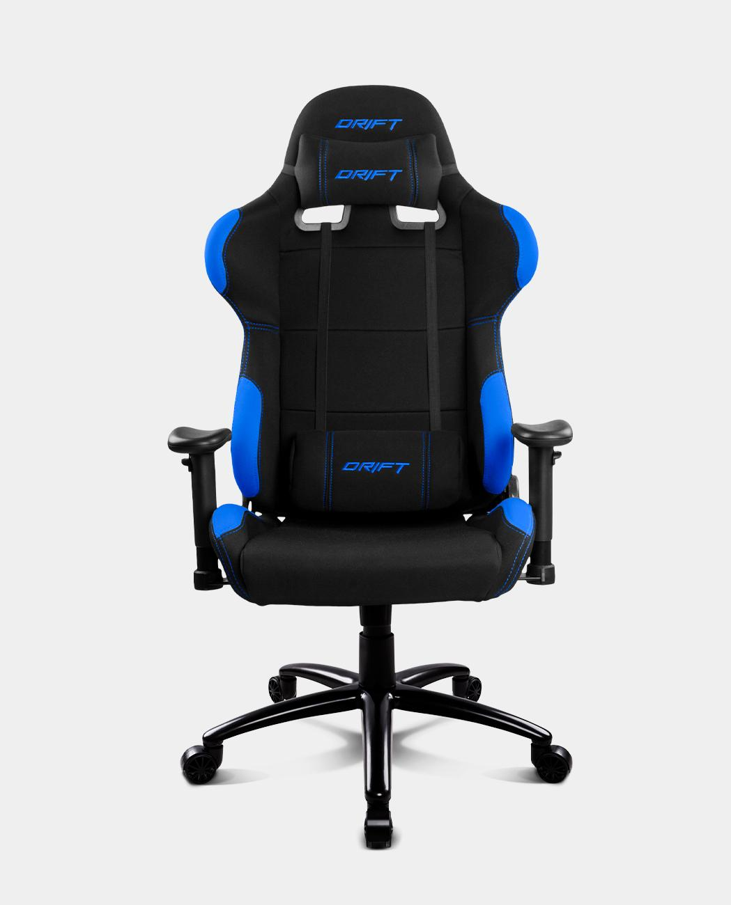 DR100BLИгровое Кресло DRIFT DR100 Fabric / black/blue