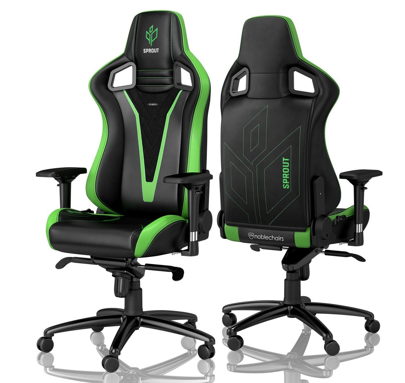 Игровое Кресло Noblechairs EPIC (NBL-PU-SPE-001) PU Leather / Sprout Edition Edition