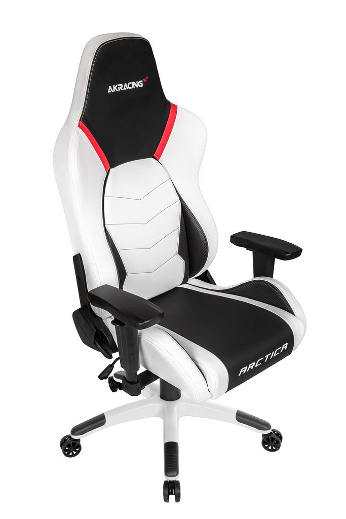 Игровое кресло  AKRacing ARCTICA (ARCTICA-WHITE) white/black