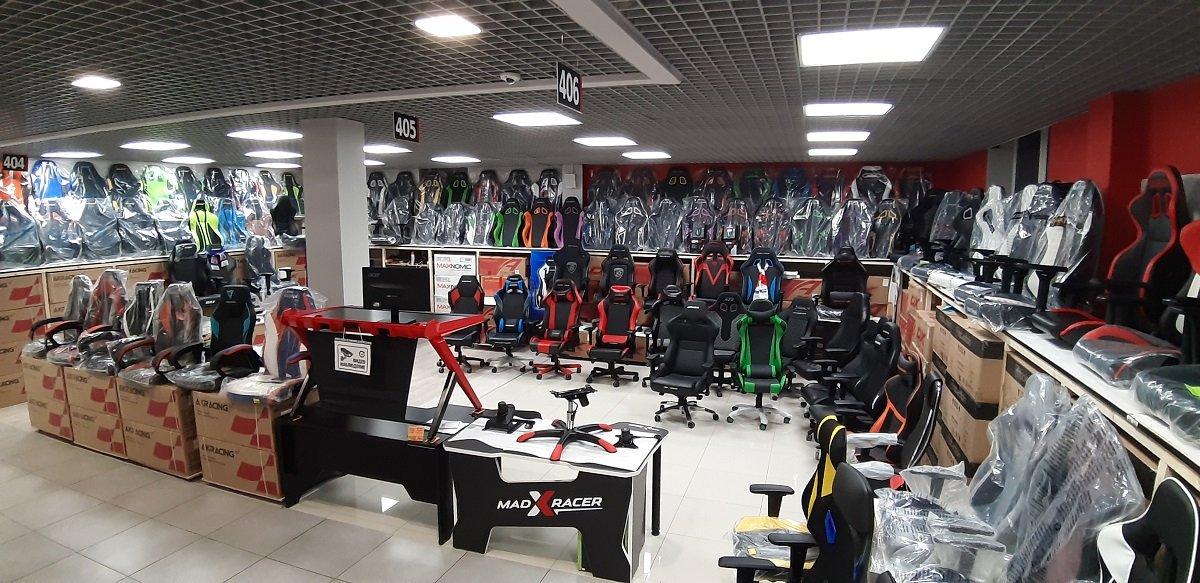 Магазин мебели для киберспорта в Санкт-Петербурге