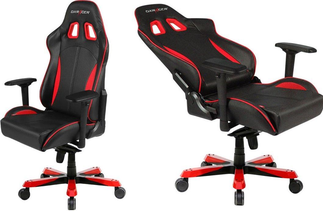 Профессиональное  киберспортивное  кресло  Dxracer линейка КИНГ OH/K-57/NR