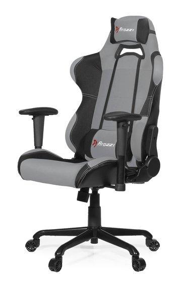 Кресло геймерское Arozzi Torretta Grey V2