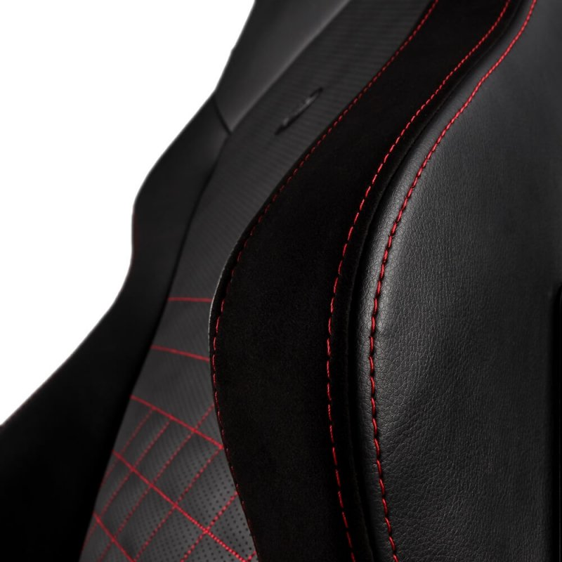 Кресло для геймера Noblechairs HERO  PU Leather / black/red