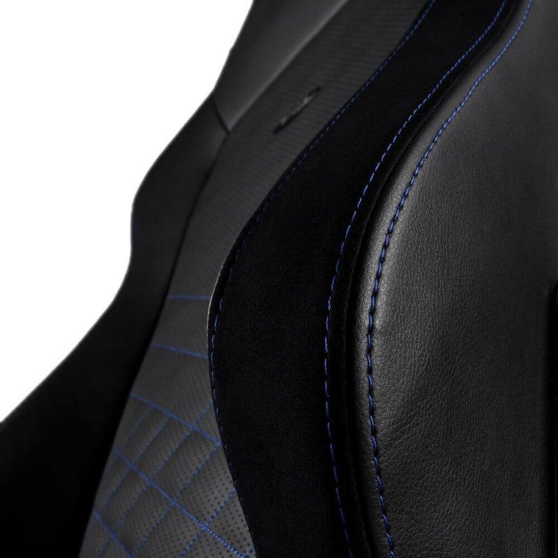 Кресло геймерское Noblechairs HERO (NBL-HRO-PU-BBL) PU Leather / black/blue