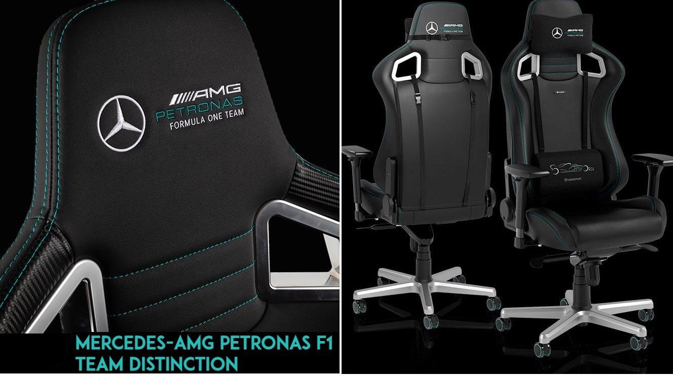 noblechairs EPIC Mercedes-AMG Petronas Formula One Team 2021 Edition